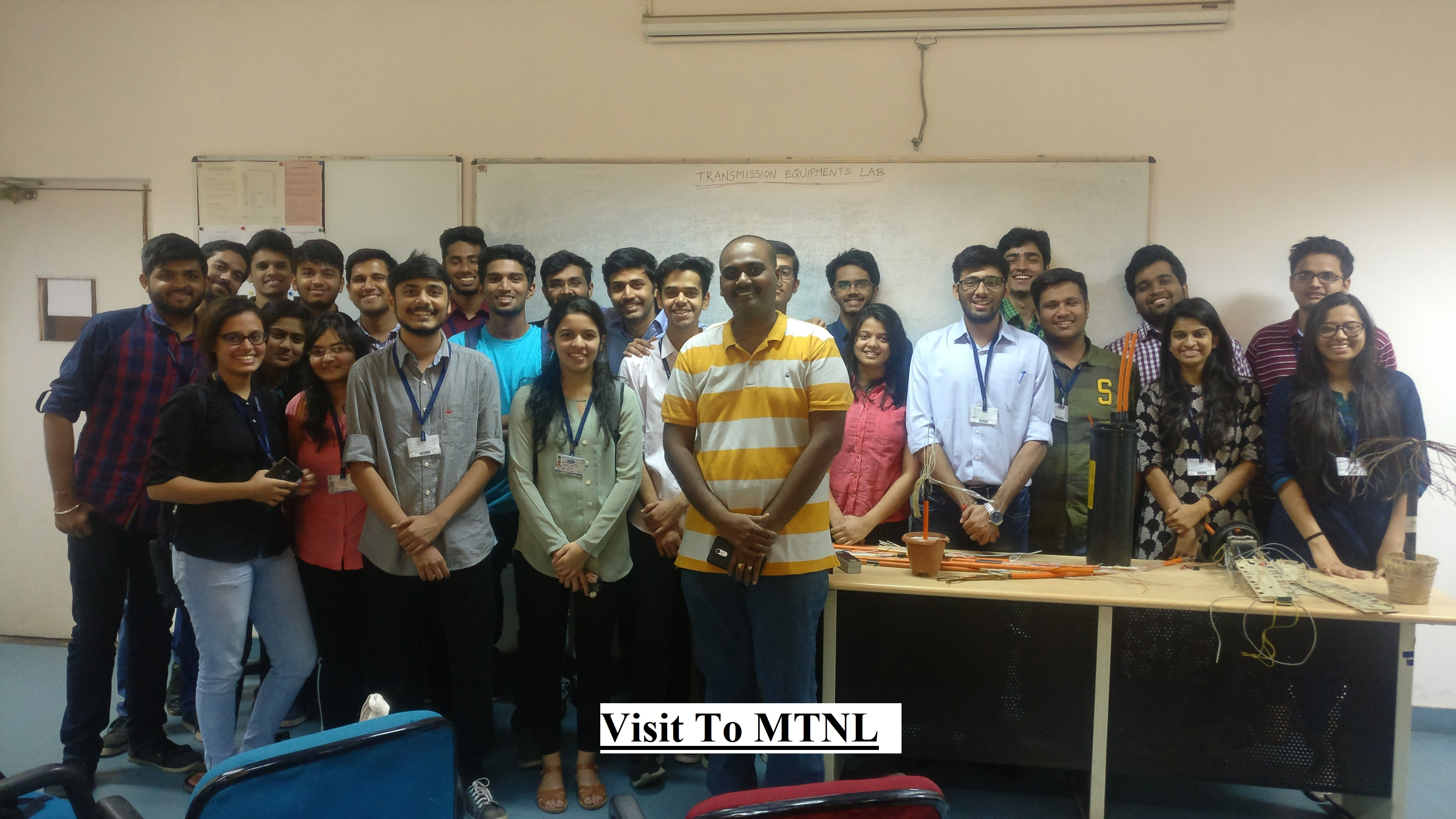 Industrial Visit to MTNL